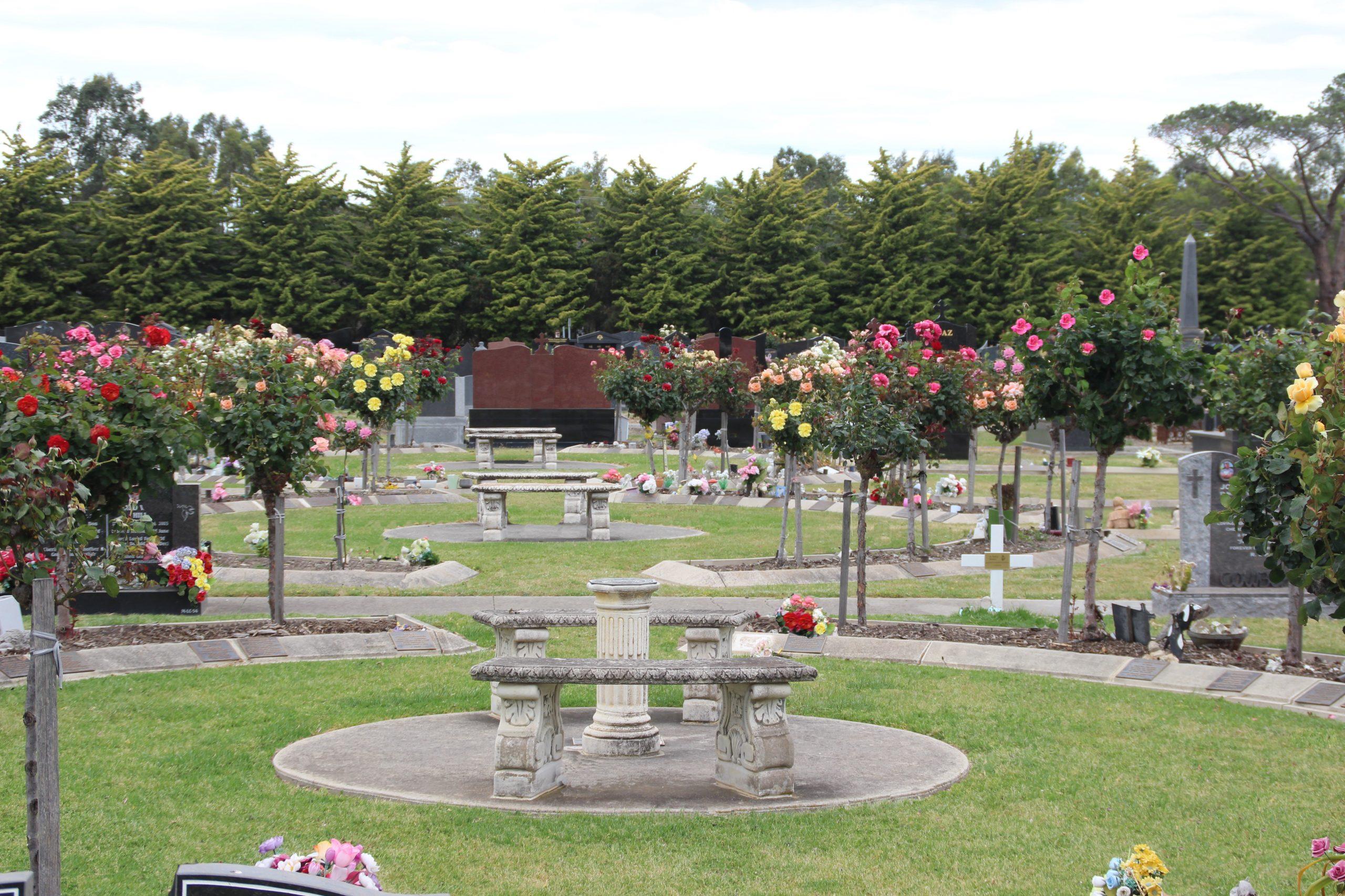 Yan Yean Cemetery Rose Garden